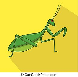 Mantid Insect Vector - Comic Mantid Insect Vector...