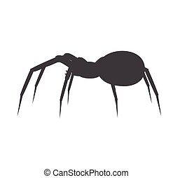 Halloween Spider Silhouette