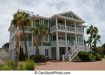 Beach Home Rentals - Beach home rentals on the coastline of...