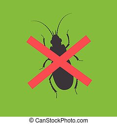 Remove Bugs Vector Illustration