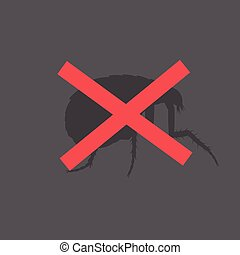 Remove Woodlouse Insect Vector Illustration