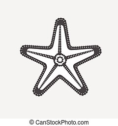 Starfish Vector Clipart