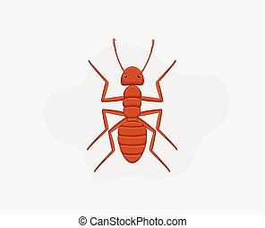 Deadly Ant Vector Illustration