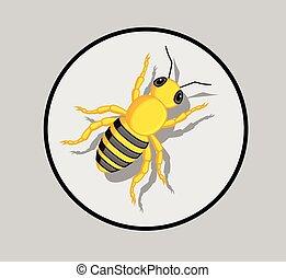 Wasp Vector - Wasp Insect Cartoon Vector