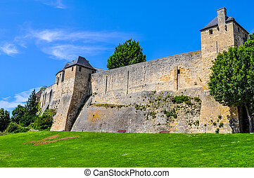 HDR Chateau Ducal castle in Caen - High dynamic range (HDR)...