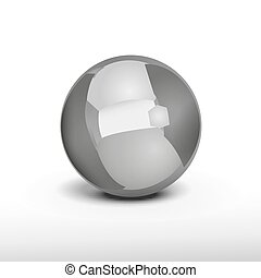 Abstract Balls Background 03 A