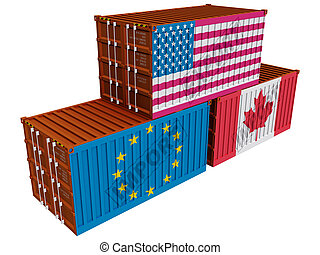 Trade with USA - Trade containers USA