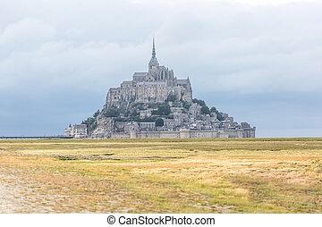 Mont Saint Michel from the countryside