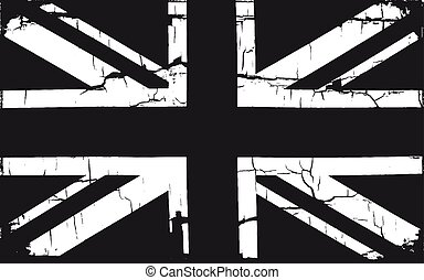 Grunge Great Britain Flag. - Grunge Great Britain flag....