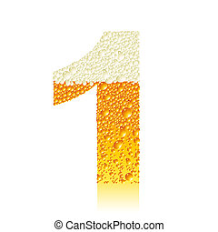 alphabet beer 1, this illustration may be useful as designer...