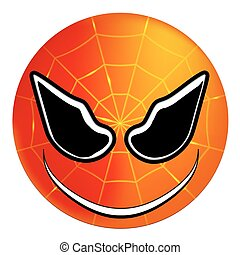 smiley superhero Spiderman - Smiley superhero Spider-Man,...