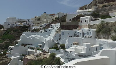 Oia city by day, Greece - VIEW OF IOA CITY, on the...