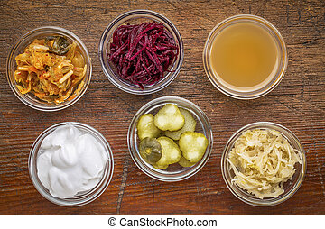 fermented food sampler