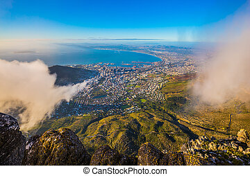 Cape Town - National Park Table Mountain, Cape Town. The...