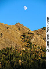 Estes Park Moonrise - This view of moonrise in Grand Lake...