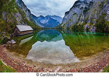 Enchanted Lake Obersee - The concept of active tourism and...