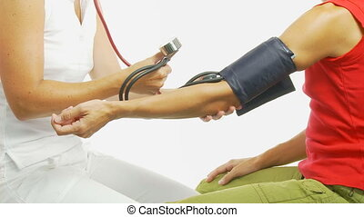 checking blood pressure wide part II