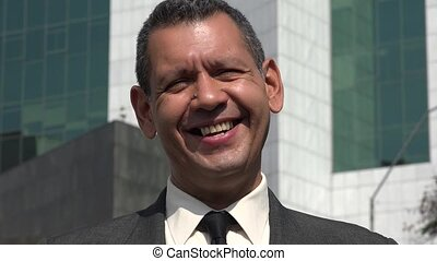 Happy Smiling Business Man