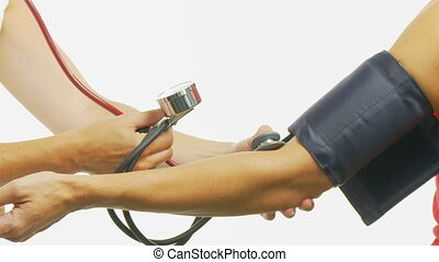 checking blood pressure close part II