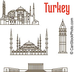 Historic landmarks and sightseeings of Turkey - Historic...