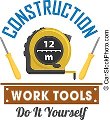 Construction and repairs work tools icon - Construction and...