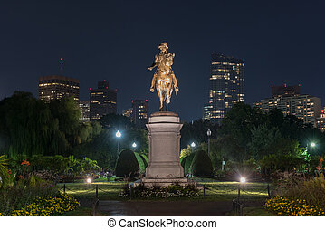 George Washington Monument - Boston - George Washington...