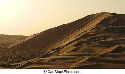 desert timelapse pan shotmov - Panning timelapse of desert...