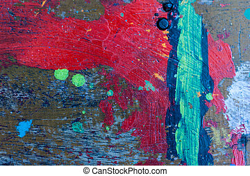 Abstract multicolored background - Multicolored background:...
