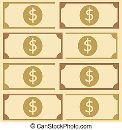 American money beautiful pattern