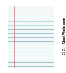 Notebook paper