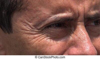 Eyes Of Hispanic Man
