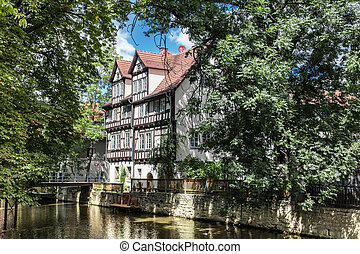 Fachwerkhaus in Erfurt - Beautiful nature and houses of the...