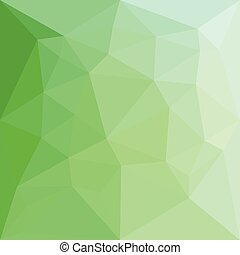 Dark Sea Green Abstract Low Polygon Background - Low polygon...