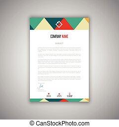 letterhead design 1008