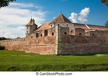 Fagaras Fortress - The Fagaras Fortress in Brasov County,...