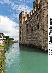 Castello Scaligero di Sirmione Sirmione Castle, built in XIV...