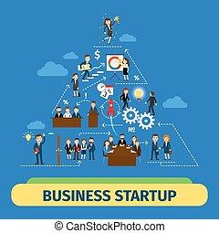 Success business teamwork concept - Success business...