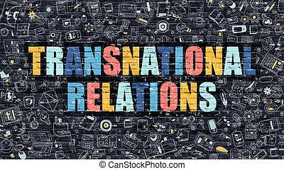 escuro,  brickwall,  Multicolor, relações, transnacional