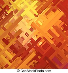 Orange Glitch Background - Orange glitch background,...