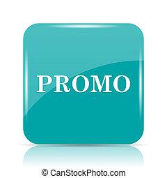 Promo icon Internet button on white background