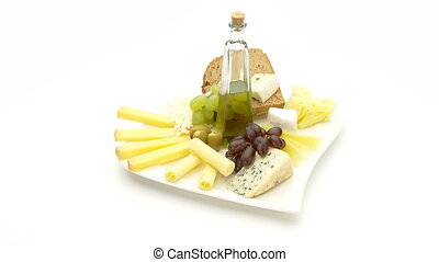 snack plate wide