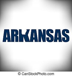 The Arkansas shape is within the Arkansas name in this state...
