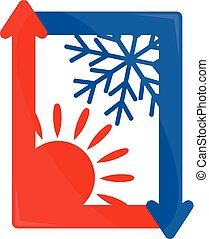 Air Conditioning sign vector - Air conditioner vector sign...