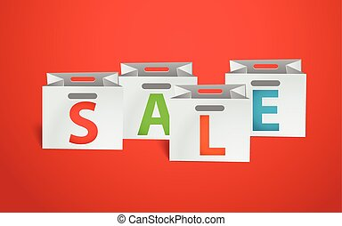 Sale promo banner template