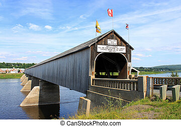 The longest covered bridge in the world - The longest wooden...
