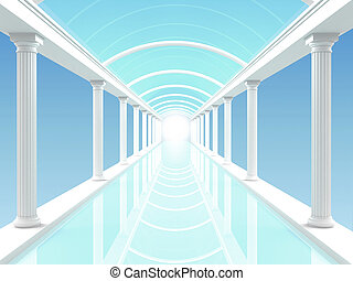 Illustration of the colonnade 3
