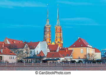 Wroclaw Cathedral of St John - View of the Cathedral of St...
