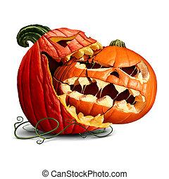 Pumpkin Eating