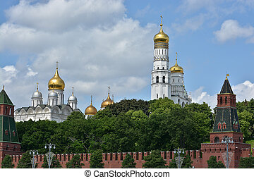 Churches Of The Moscow Kremlin - The Churches Of The Moscow...