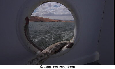 Mooring Line Lake Powell Ferry - Mooring line Lake Powell...